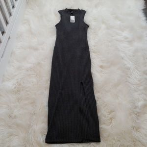NWT Forever 21 Ribbed Tank Dress